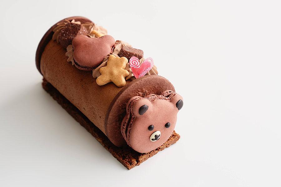 roulé chocolat de nounours