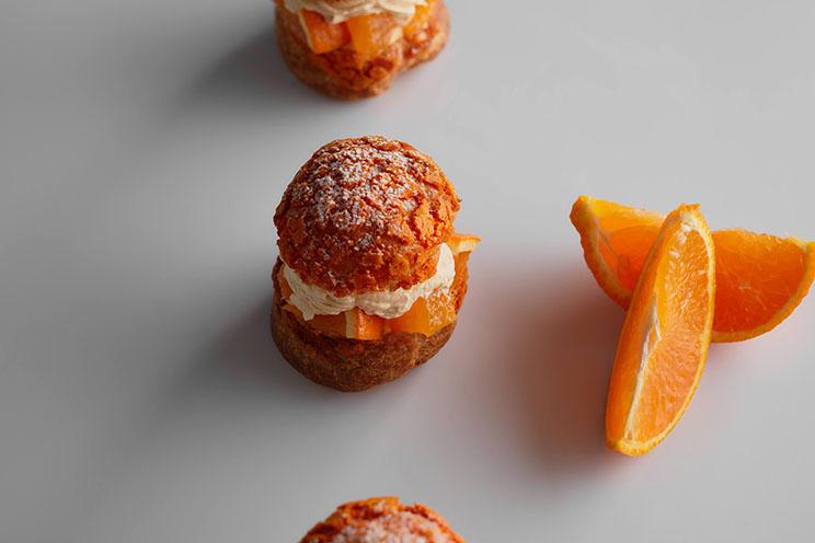 オレンジのクッキーシュー